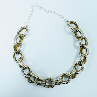 Sterling Silver Welded Chain Necklace