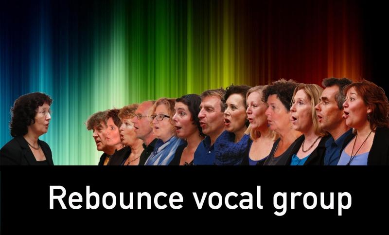 Rebounce een 12 man sterke vocalgroep
