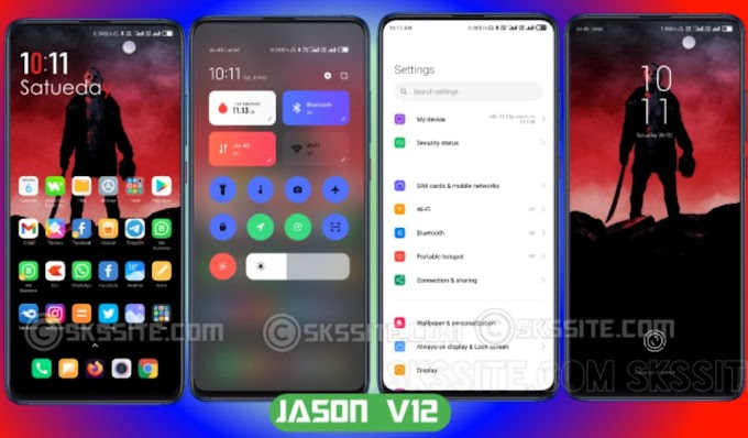 Jason V12 Theme for All Xiaomi Devices | Theme Store | Third Party Link Available | Miui 12|