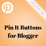 How to Use the Official Pin It Hover Buttons on Blogger