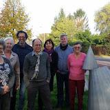 Het bestuur van de Dorpsraad okt 2015)