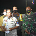 Kapolres Soppeng Tinjau korban Gempa Mamuju Sulbar