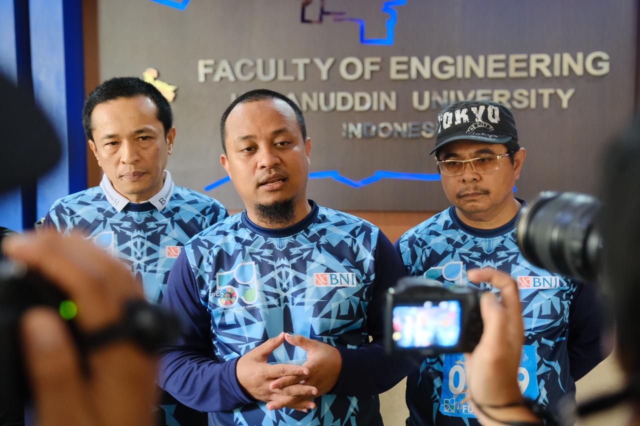 Wagub Sulsel Andi Sudirman '' Kontribusi Dosen Unhas Dapat di Lihat Dalam proses Pembangunan Sulsel