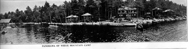 1937 White Mountain Camp - Brochure