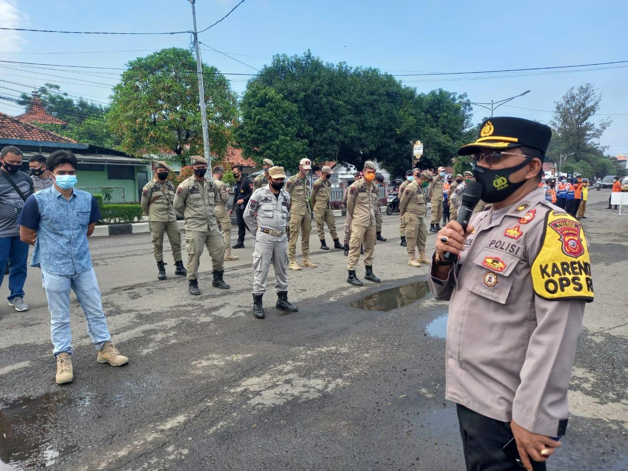Kompol Sumari Pimpin Apel Kesiapan Ops Yustisi Tingkat Polres Majalengka