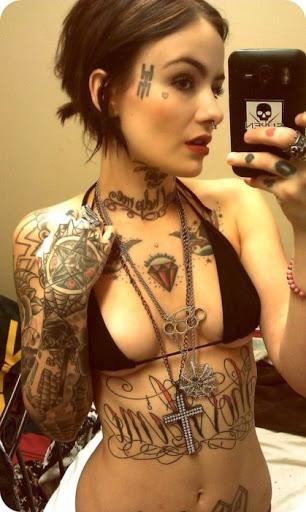 Girl Tattoo Designs