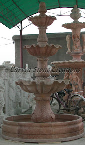 carved stone, Estate, Fountain, Ideas, Natural Stone, Pool, Surround, Tiered