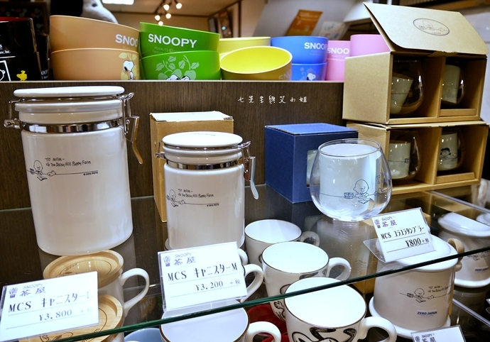 11 日本京都 錦市場 史努比茶屋 スヌーピー茶屋