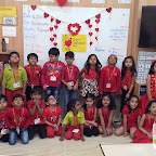 Valentine's Day Celebrated by Sr.KG Section at Witty World, Chikoowadi (2017-2018)