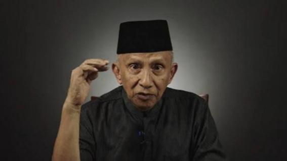 Pernyataan Amien Rais Menggelegar, Rezim Jokowi Menakutkan: Zaman Pak Harto Saja Gak Seperti Ini