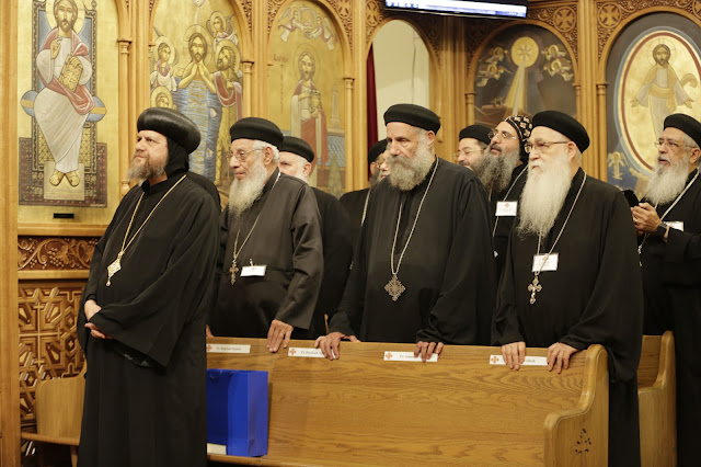 His Holiness Pope Tawadros II visit to St. Mark LA - _09A9100.JPG