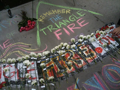 random notes: geographer-at-large: 100 Years Later ... Triangle Shirtwaist Fire Map