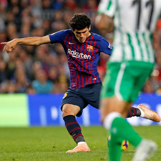 Carles Alena Now Officially Promoted To First Team With A New Shirt Number
