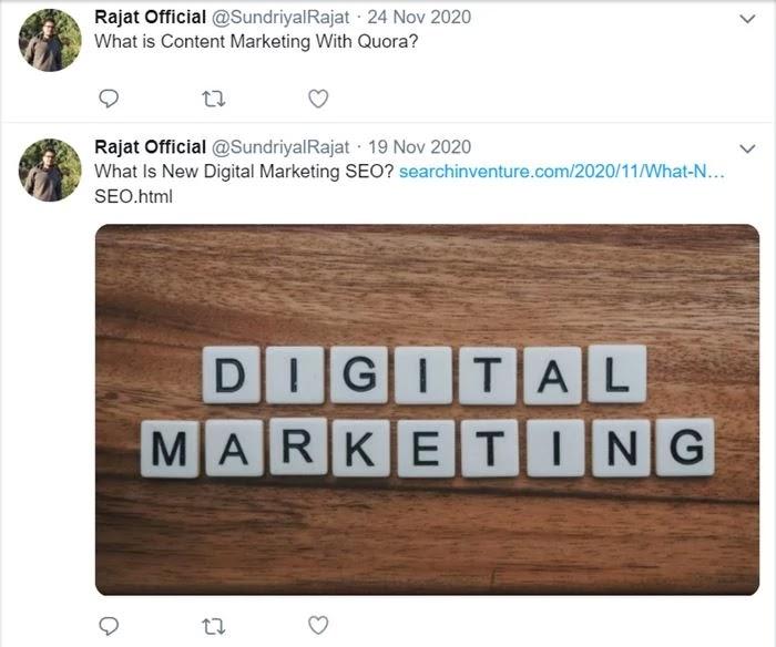 Rajat Official Twitter