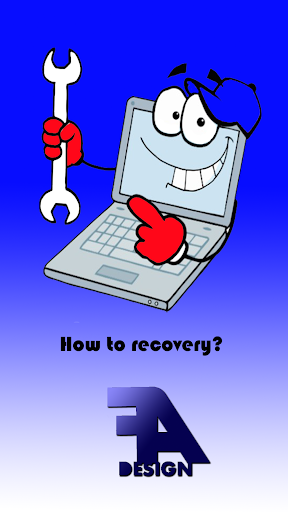 How to recovery laptop PRO