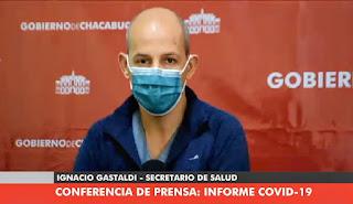 Ignacio Gastaldi coronavirus Chacabuco
