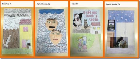 ilustrações passagens do conto