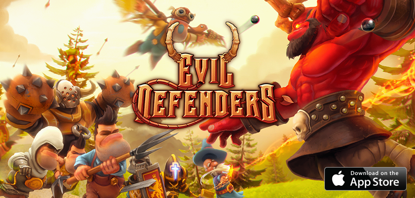 Evil Defenders v1.0.16 APK+DATA (Unlimited Money) - Cover