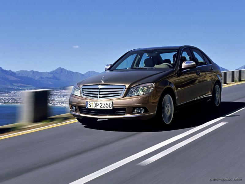 2010 mercedes benz c class sedan specifications pictures. Black Bedroom Furniture Sets. Home Design Ideas
