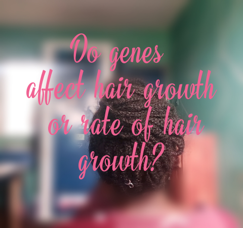 Does natural hair growth depend on just genes?