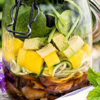 Thai Beef Salad in a Jar