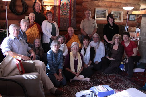 Gendun Drubpa Centre's weekend seminar with Ven. Chogkyi, Canada, 2011. Photo by Dianne Noort.