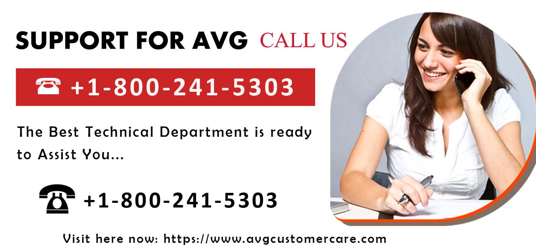 AVG Customer Service Number 1-800-241-5303