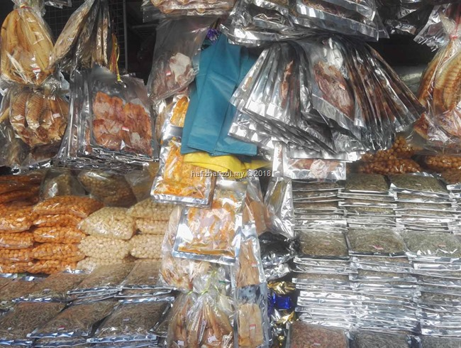 makanan di pasar Filipina Sabah