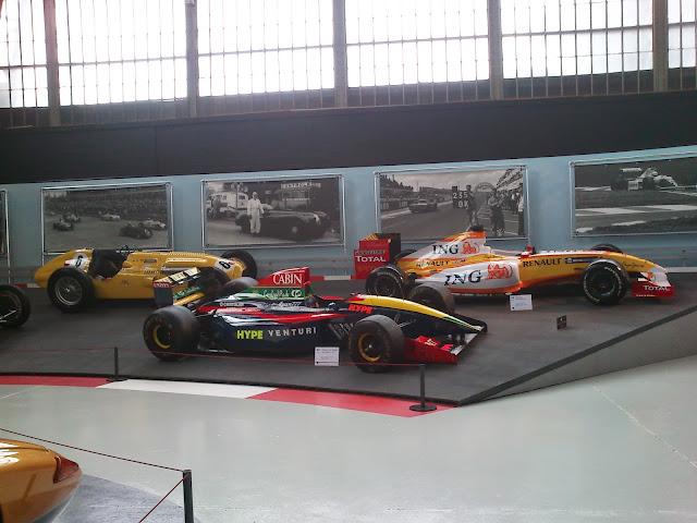 Fantásticos coches de carrera y fórmula 1