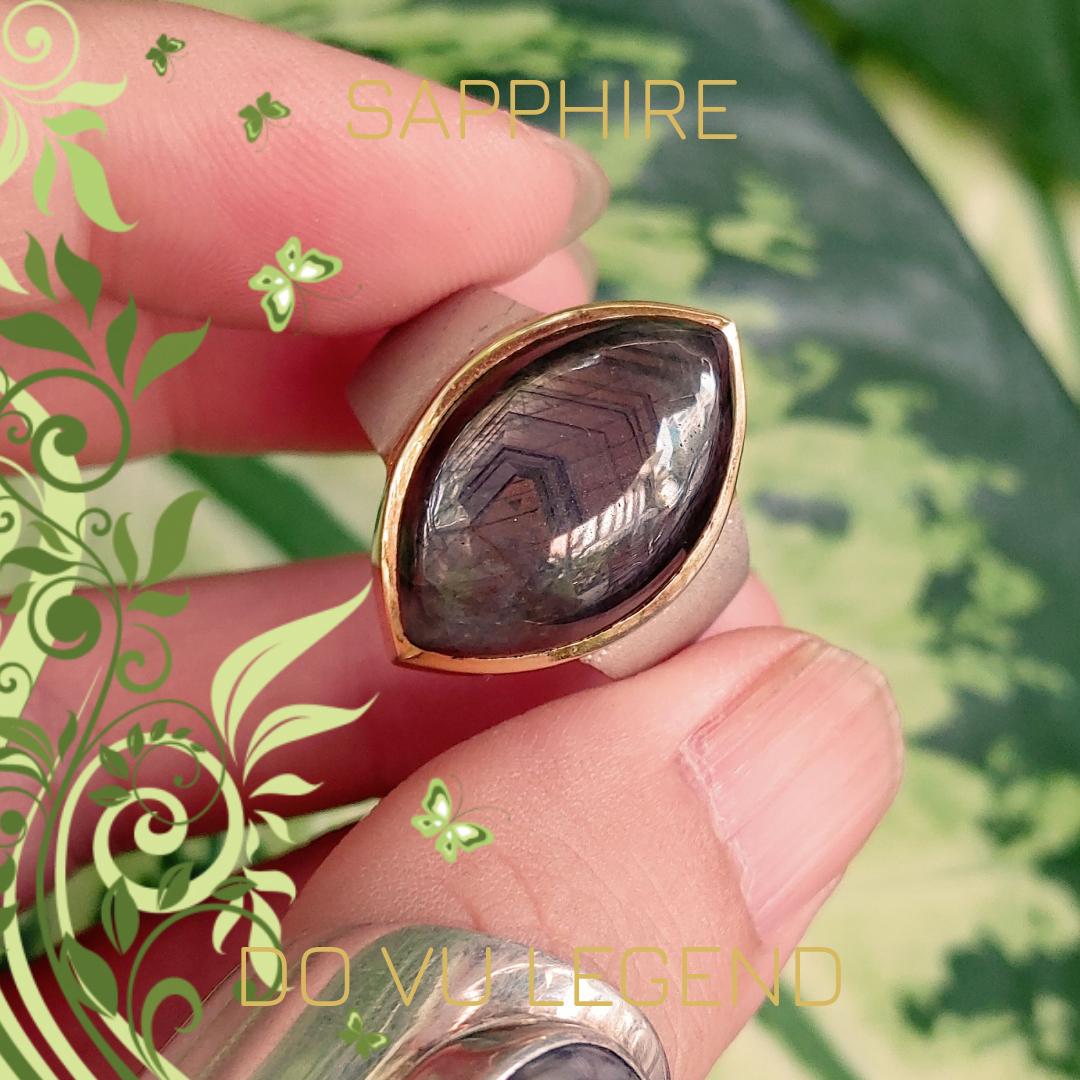 Nhẫn Sapphire sao