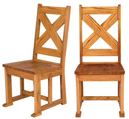 Santego Dining Chairs in Seely Oak