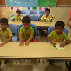 ORIGAMI HOME MAKING FOR JUNIOR KG 10.11.2016 (WITTY WORLD)