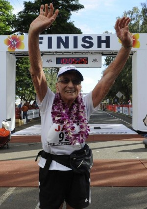 92 Year Old Marathoner
