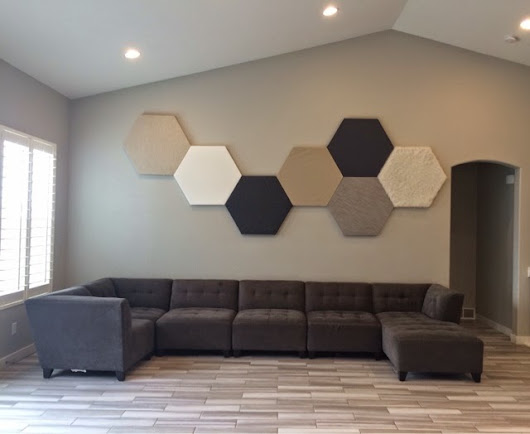 Hexagon Wall Art