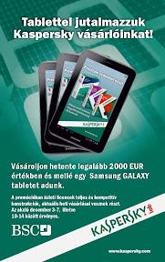 Kaspersky reklám plakát tervezés.
