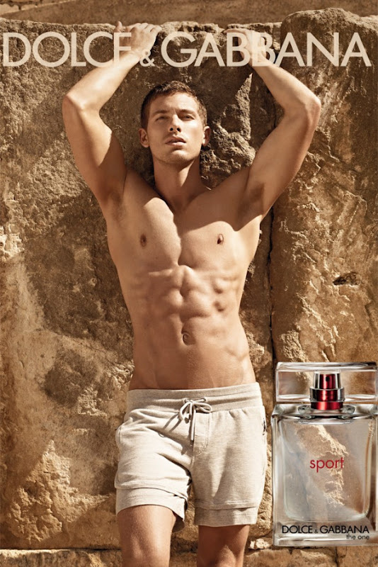 Adam Senn @ Wilhelmina/Why Not by Mariano Vivanco for Dolce & Gabbana THE ONE SPORT fragrance, Spring 2012