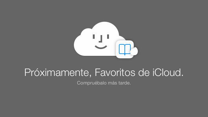 Favoritos de iCloud, próximamente en la web
