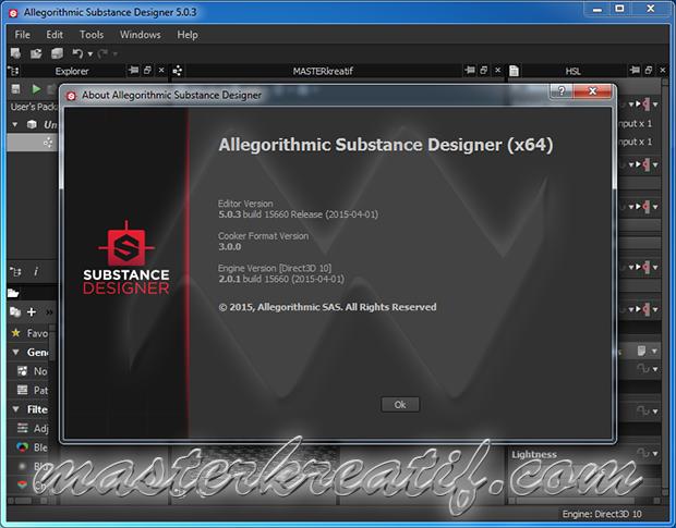 Substance Designer 5.0.3