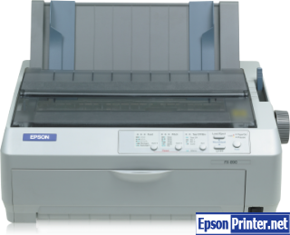 How to reset Epson 890 printer