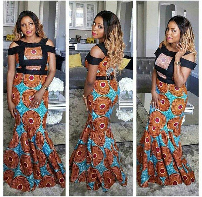 mishono ya vitenge nigeria Trends 2018 6