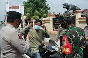 Positif Covid Terus Melambung, Polres Subang Gelar Patroli PPKM Secara Gabungan