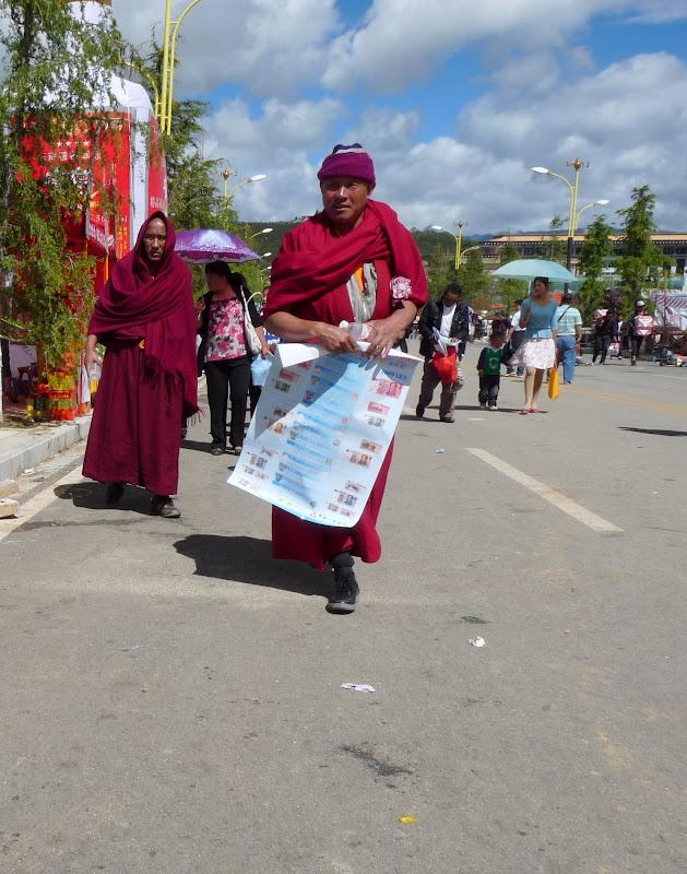 Chine. Yunnan.Shangri la Course hippique annuelle - P1250748.JPG