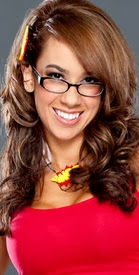 AJ Lee Girlfriend of John Cena in 2014