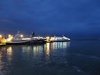Hafen von Calais am Morgen