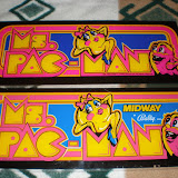 Two-Bits Ms. Pac-man Marquee