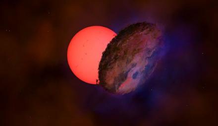 """Ανακαλύφθηκε γιγάντιο άστρο που """"αναβοσβήνει"""" στο κέντρο του γαλαξία μας"""