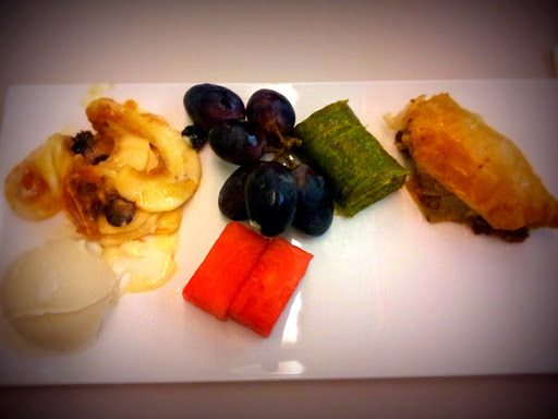 Dessert. Yes, try them all!  From What's It Really Like to Fly Turkish Airlines Business Class?