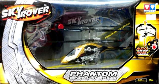 Máy bay điều khiển từ xa Phantom Skyrover YW858190 dành cho trẻ em trên 14 tuổi