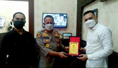 Bravo !! Kapolres Belawan AKBP Mhd R Dayan Terima Penghargaan Terbaik Se-Sumatera Utara