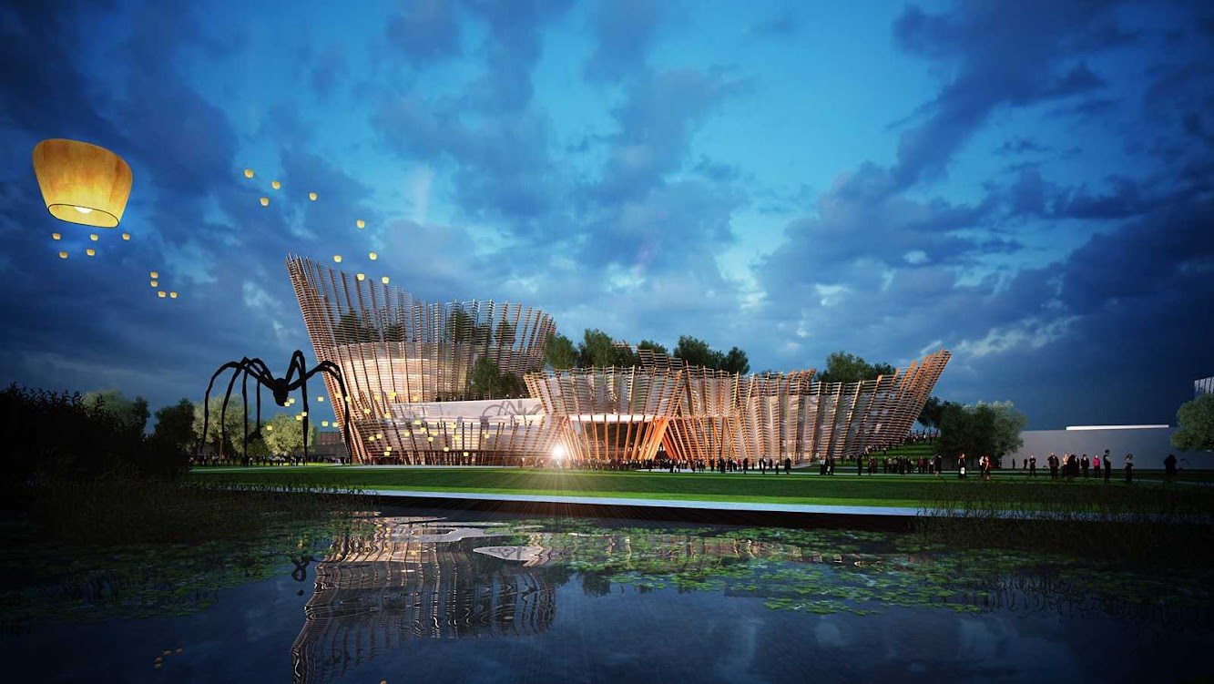 Los Angeles, California, Stati Uniti: Taichung City Cultural Center Competition by Maxthreads